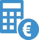 Kreditkosten Icon